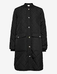 Soft Rebels - SREileen LS Quilt Coat - quilted jackets - black - 0