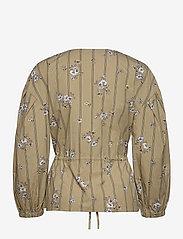 Soft Rebels - SRKimberly LS Shirt - long sleeved blouses - bouquet print - 1
