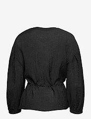 Soft Rebels - SRPolly LS Shirt - long sleeved blouses - black - 1