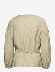 Soft Rebels - SRPolly LS Shirt - long sleeved blouses - covert green - 1