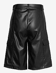 Soft Rebels - SRAlma Shorts - skinn shorts - black - 1