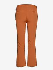Soft Rebels - Trissa Kick Flared Pant - uitlopende broeken - caramel café - 1