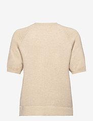 Soft Rebels - SRMarla SS O-Neck Knit - t-shirt & tops - whitecap gray - 1