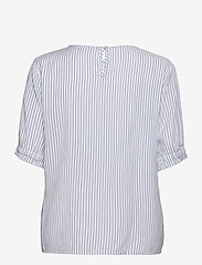 Soft Rebels - SRAllysia SS Top - short-sleeved blouses - provence - 1