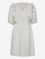 Soft Rebels - SRVickie Wrap Dress - sommerkjoler - snow white / off white - 0