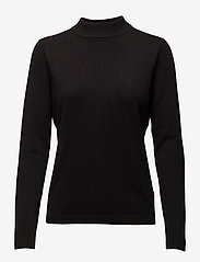 Soft Rebels - Zara Turtleneck - rullekraver - 001 black - 2