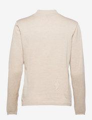 Soft Rebels - SRMarla Turtleneck Knit - turtlenecks - whitecap gray - 1