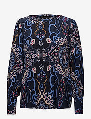 Soft Rebels - Lucia Blouse - long sleeved blouses - night sky - 0