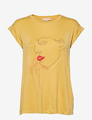 Soft Rebels - Girl T-shirt - t-shirts med tryk - rattan - 0