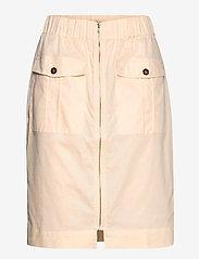 Soft Rebels - Gina Skirt - midi skirts - whitecap gray - 0