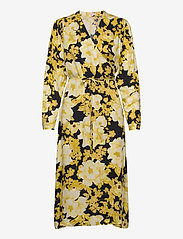 Soft Rebels - Rosanna Midi Dress Printed - summer dresses - rosanna print pattern - 0
