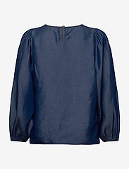 Soft Rebels - Rue 3/4 Top - long sleeved blouses - rinse wash - 1