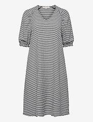 Soft Rebels - Mate 2/4 Dress - everyday dresses - black - 0