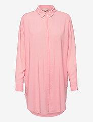 Soft Rebels - SRFreedom LS Long Shirt - tunics - quartz pink - 0