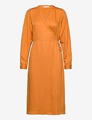 Rosanna Midi Dress - TOMATO CREAM