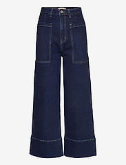 Soft Rebels - Janet High Waist Jeans - brede jeans - rinse wash blue - 1