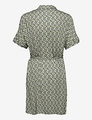 Soft Rebels - SRLeah Shirt Dress - summer dresses - blur flower arcadian green - 2