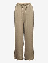 Soft Rebels - SRHarlow Pant - wide leg trousers - dune - 1