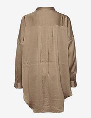 Soft Rebels - SRHarlow LS long Shirt - long-sleeved shirts - dune - 2