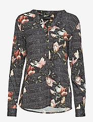Soft Rebels - Mui Shirt - long sleeved blouses - 791 mui print - 0