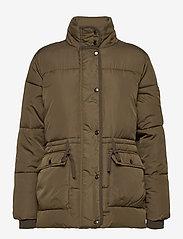 Soft Rebels - Layla Puffer Jacket - down- & padded jackets - dark olive - 1