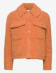 Soft Rebels - Wendy Jacket - faux fur - pheasant - 0