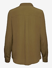 Soft Rebels - Dora LS Shirt - long sleeved blouses - dark olive - 1