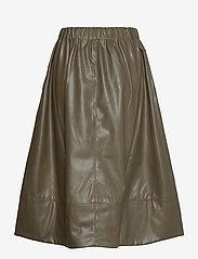 Soft Rebels - Alba Midi Skirt - midi skirts - dark olive - 1