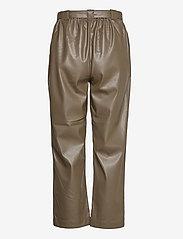 Soft Rebels - Alba 7/8 Pant - bukser med brede ben - dark olive - 1