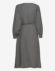 Soft Rebels - Aura Midi Dress - summer dresses - asphalt - 1