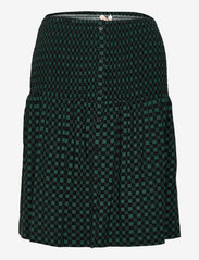 Soft Rebels - SREllie Skirt - midi nederdele - mini square bayberry - 0
