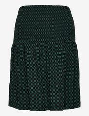 Soft Rebels - SREllie Skirt - midi nederdele - mini square bayberry - 1