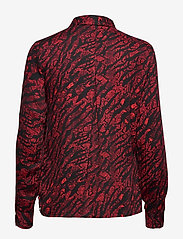 Soft Rebels - Animal LS Shirt - long sleeved blouses - animal flame scarlet - 1