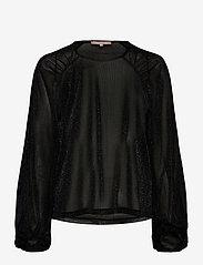 Soft Rebels - SRAlbertine LS Top - long sleeved blouses - black - 0