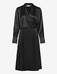 Soft Rebels - SREliza Wrap Dress - cocktail dresses - black - 0