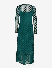 Soft Rebels - Smile LS Midi Dress - everyday dresses - evergreen - 1