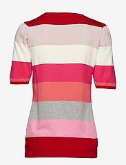 Soft Rebels - Charlie Blouse - short-sleeved blouses - 350 spizy red - 1