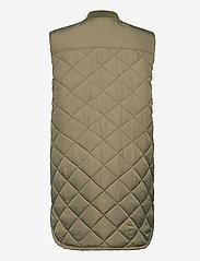 Soft Rebels - SREileen Quilt Vest - puffer vests - covert green - 1