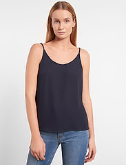 Soft Rebels - Frida Top - blouses zonder mouwen - night sky - 0