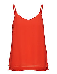 Frida Top - POPPY RED