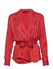 Lee Blouse - POPPY RED