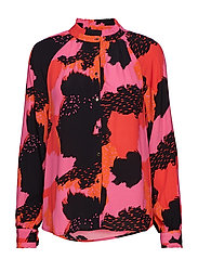 Touch Shirt - TOUCH PRINT POPPY RED
