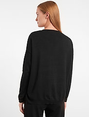 Soft Rebels - Zara V-neck Knit - trøjer - black - 3