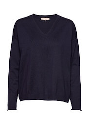 Zara V-neck Knit - TOTAL ECLIPSE