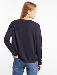 Soft Rebels - SRMarla V-neck Knit - trøjer - total eclipse - 3