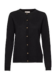Zara New O-neck Cardigan - BLACK