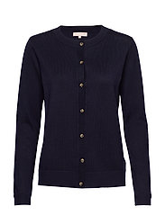 Zara New O-neck Cardigan - TOTAL ECLIPSE