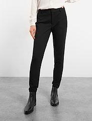 Soft Rebels - Sofia 7/8 Pant - broeken med straight ben - black - 0
