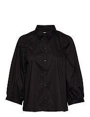 Joanne 3/4 Shirt - BLACK
