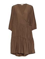 Stella 3/4 Dress - PARTRIDGE